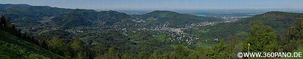 5.6 Gigapixel Panorama Baden-Baden