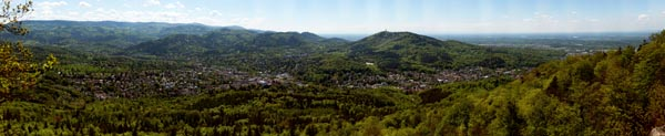 2.0 Gigapixel Panorama Baden-Baden