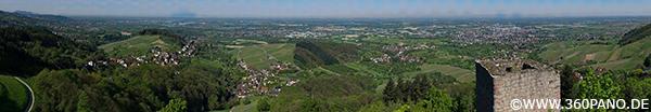 8.5 Gigapixel Panorama von Bühl