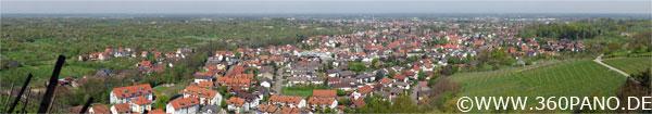 725 Megapixel Panorama von Oberachern