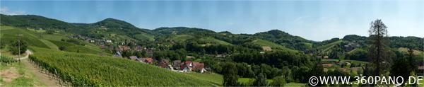 2.25 Gigapixel Panorama von Sasbachwalden