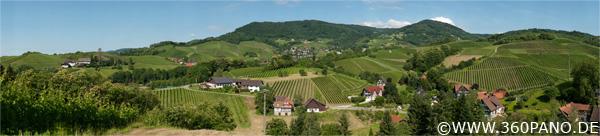 2.2 Gigapixel Panorama von Sasbachwalden