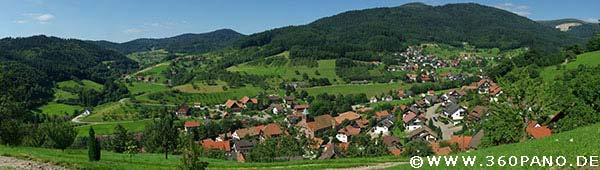 360 Megapixel Panorama von Seebach